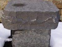 Basalt End Table