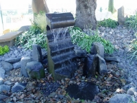 Cut Basalt Fountain Rock