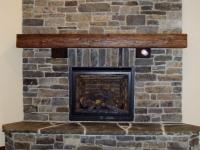 Moose Mountain Ledge Fireplace