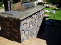 Basalt Thin Veneer Outdoor BBQ