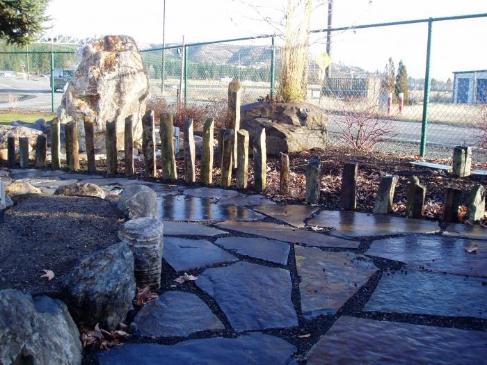Boulders Columns Natural Bird Baths Sunrise Inc