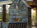 Chief Cliff Ledge Outdoor Fireplace