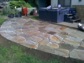 Gold Rush Flagstone Patio