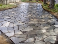 Cowboy Coffee Flagstone Patio