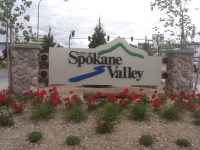 City of Spokane Valley Portal Sign
