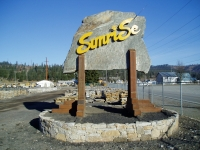 Sunrise Inc. Display Yard Sign