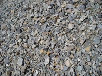 "1 1/4"" Minus Granite Gravel"