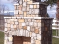 Whitetail Granite Square and Rectangle Thin Veneer Outdoor Fireplace.jpg